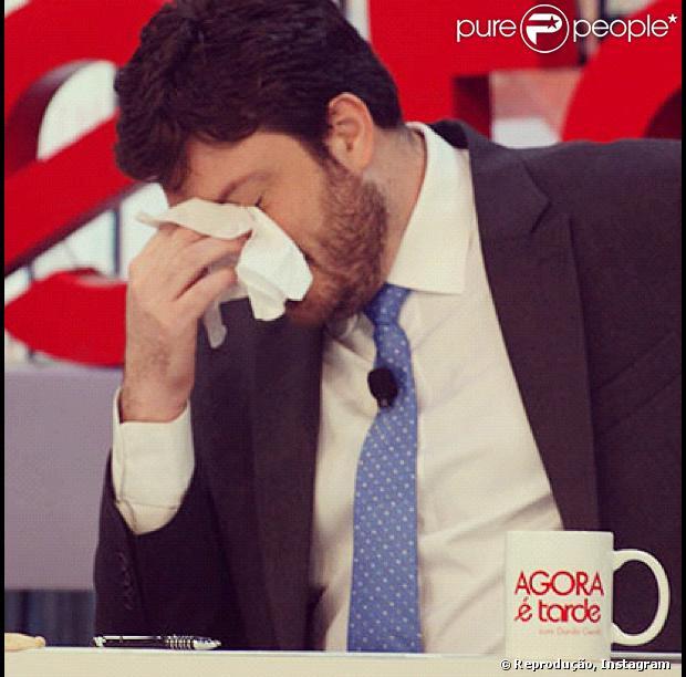 O especial de Natal do 'Agora é Tarde', de Danilo Gentili, foi vetado pela Band (18 de dezembro de 2013)