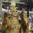 Sabrina Sato é rainha de bateria da Vila Isabel, no Rio de Janeiro