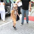 Noah chega para sua festa nesta quarta-feira, 18 de dezembro de 2013, na casa de festas Itanhangá Lounge Festa e Aventura, na Zona Oeste do Rio de Janeiro