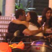 Malvino Salvador é flagrado aos beijos com a nova namorada, Kyra Gracie