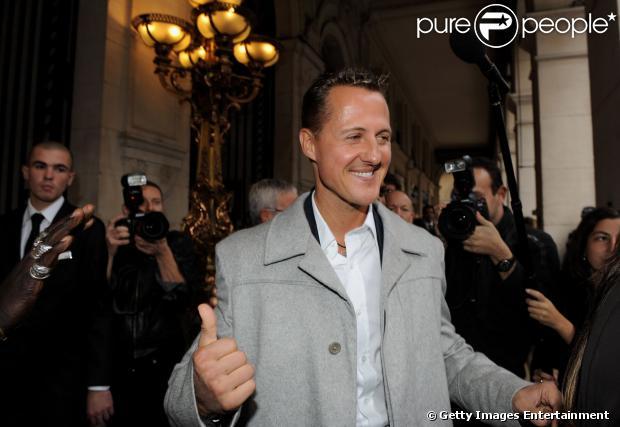 Michael Schumacher apresentou melhoras, diz assessora de imprensa nesta quarta-feira, 1º de janeiro de 2014