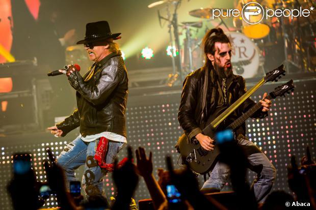 Guns N' Roses vem para o Brasil para shows em março e abril de 2014