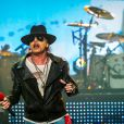 Axl Rose é vocalista do Guns N'Roses