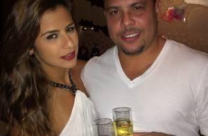 Ronaldo promete que vai se casar com Paula: 'É só o Brasil ganhar a Copa'