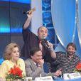 O último trabalho de Marly Marley na TV foi como jurada do 'Programa Raul Gil'