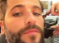 Bruno Gagliasso escurece cabelo para novela: 'Rejuvenescendo o Mario'. Vídeo!