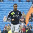 O jogador Cristiano Ronaldo começa 2013 com o pé direito: vence de 4 a 3 e marca 2 gols