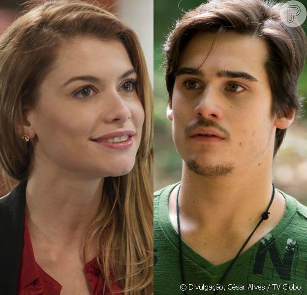 Diana (Alinne Moraes) conversa com Zac (Nicolas Prattes) para tentar se entender com o filho de Gui (Vladimir Brichta), mas não é bem recebido pelo rapaz, nos próximos capítulos da novela 'Rock Story'