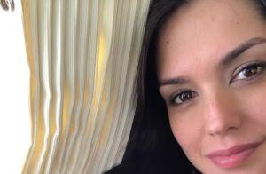 Thais Fersoza mostra viagem de avião da filha, Melinda: 'Bebê sorriso'. Vídeo!