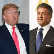 Donald Trump deseja ter Sylvester Stallone no governo: 'Escolha perfeita'