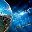 Netinho mosra a capa de seu novo CD, 'Beats, baladas & balanços - manual para baladas'