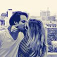Karen Junqueira está namorando o publicitário Rodrigo Medina