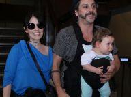 Alexandre Nero comemora aniversário do filho com tema circo: 'Debaixo de chuva'