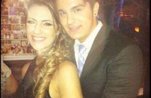 Luan Santana posta foto romântica com a namorada e se declara: 'Eu e minha gata'
