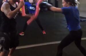 Vídeo: Alice Wegmann esbanja boa forma e disposição durante treino de boxe
