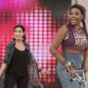 Fátima Bernardes dança com Ludmilla no 'Encontro' e agita web: 'Rainha do funk'