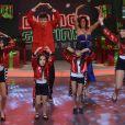 Rodrigo Faro se divertem ao encenar 'balé' com as herdeiras