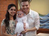 Michel Teló e Thais Fersoza batizam a filha, Melinda: 'Dia especial'. Fotos!