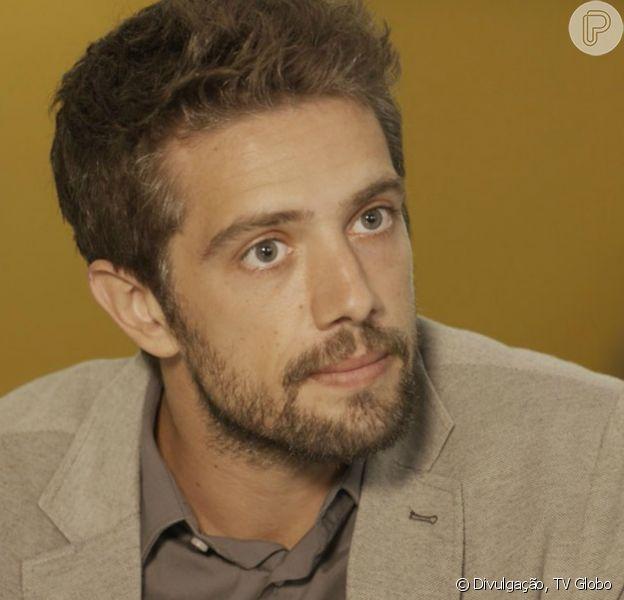 Cesar (Rafael Cardoso) decide se livrar de Mario (Bruno Gagliasso) sequestrando-o, na novela 'Sol Nascente'