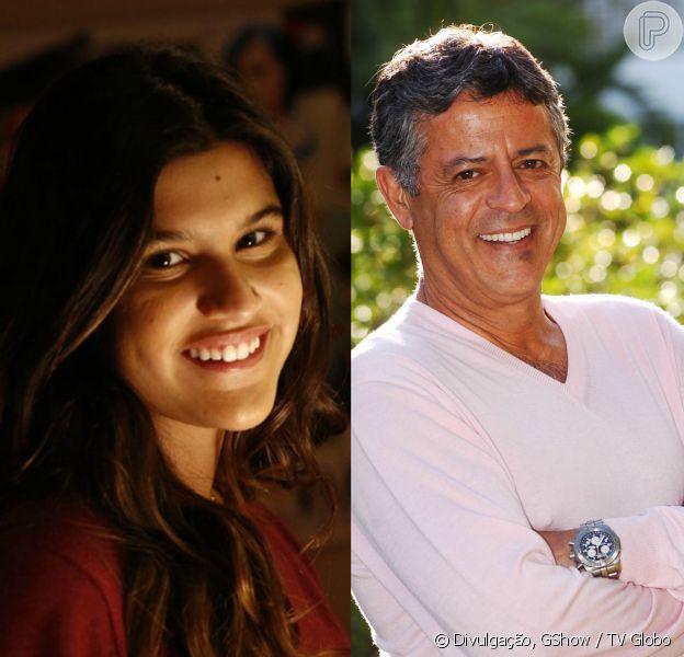 Giulia Costa lamentou a ausência do pai, Marcos Paulo, neste sábado de Natal, 24 de dezembro de 2016