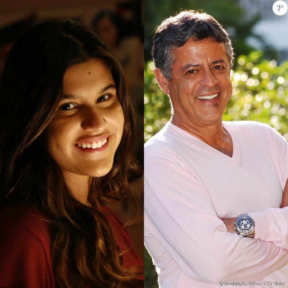 8272544e53bae Giulia Costa lamentou a ausência do pai, Marcos Paulo, neste sábado de  Natal,