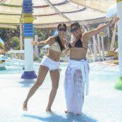 Simone e Simaria se divertem em parque aquático com maridos. Veja fotos!