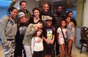 Anderson Silva, em recuperação, recebe visita de Marisa Monte e Seu Jorge