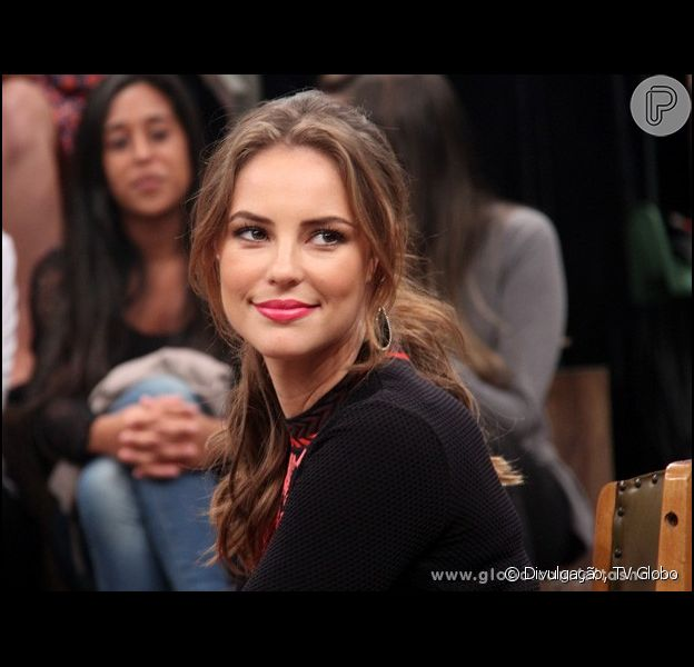 Paolla Oliveira é uma das entrevistadas deste sábado do programa 'Altas Horas', da TV Globo. Na atração, a atriz lembrou a cena onde bateu em Félix (Mateus Solano), em 'Amor à Vida': 'Eu tenho muita dificuldade em bater em cena, prefiro levar tapa', confessou