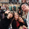 Serginho Groisman recebeu no 'Altas Horas' as atrizes Paolla Oliveira, Maria Casadevall e Débora Nascimento. A atração vai ao ar neste sábado, 25 de janeiro de 2014