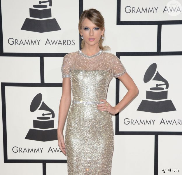 Taylor Swift veste Gucci no Grammy Awards 2014
