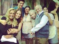 Paolla Oliveira reúne elenco para despedida das gravações de 'Amor à Vida'