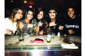 Caio Castro vai para balada com amigos durante férias em San Diego, nos EUA