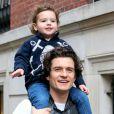 Bloom é pai de Flynn, de três anos, do seu casamento com Miranda Kerr