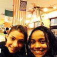 A mãe de Laís Souza já está nos Estados Unidos para acompanhar a recuperação da filha