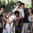 No fim de 'Amor à Vida', Félix e Niko formam uma família e vão morar na casa de praia da família Khoury