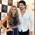Os ex-BBBs Rodrigão e Adriana Sant'Anna são casados desde outubro de 2015