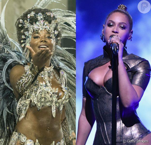 Ludmilla representará Beyoncé no desfile da Unidos da Tijuca no Carnaval 2017
