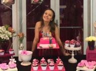 Larissa Manoela faz festa para comemorar 8 milhões de seguidores: 'Felicidade'
