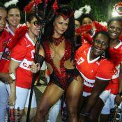 'Carnaval 2017': Viviane Araújo ousa com fantasia de diabinha em ensaio técnico