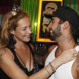 Luana Piovani e Pedro Scooby se divertiram na festa 'Bailinho'