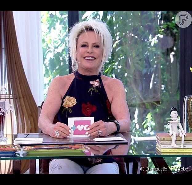 Ana Maria Braga, de cabelo novo, volta das férias e ...