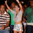 Wanessa Camargo vai desfilar como musa da Mocidade Independente de Padre Miguel, no carnaval do Rio, e participou do ensaio de rua da agremiação nesta segunda-feira, 6 de fevereiro de 2017