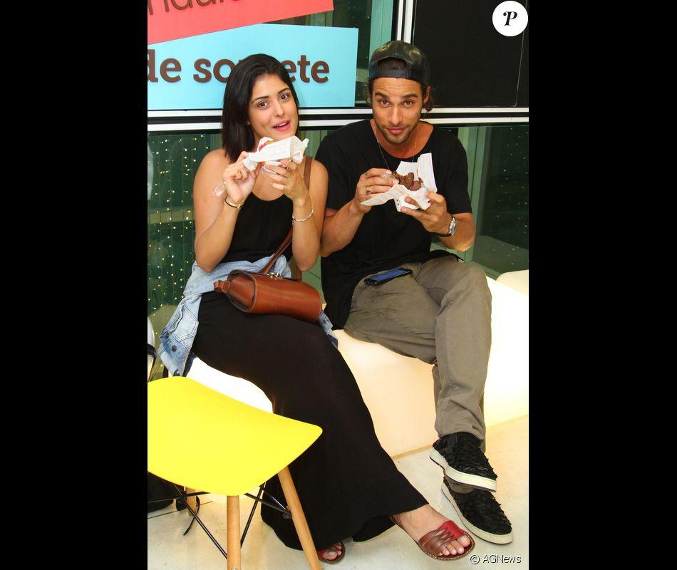 Pablo Morais e Letícia Almeida já namoravam há dois meses quando assumiram o relacionamento, em 5 de dezembro de 2016