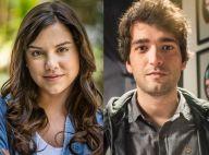 'A Lei do Amor': após transar com Tiago, Marina o persegue. 'Quero repeteco'