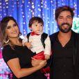 Noah, filho de Sandro Pedroso e Jéssica Costa e neto de Leonardo, comemorou seu primeiro aniversário