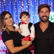 Noah se veste de mágico em festa de 1 ano, sem o avô Leonardo: 'Comemorou antes'