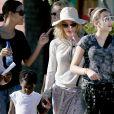 Madonna já é mãe de Lourdes Maria, Roccom, David Banda e Mercy James, adotados por ela no Malauí