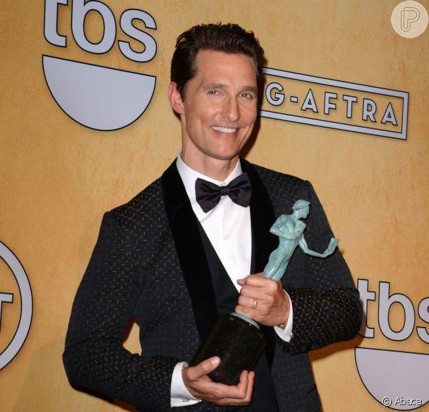Matthew McConaughey vai estrelar o próximo filme de Gus Van Sant, o 'Sea of Love'