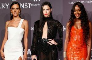 Modelos brilham no tapete vermelho do baile de gala do AmFar. Veja os looks!