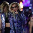 Maquiagem de Lady Gaga durante show do Super Bowl, em 5 de fevereiro de 2017, chamou atenção!